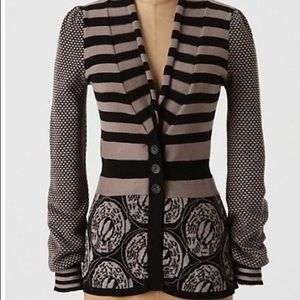 Anthropologie Lia Molly New Orleans cardigan